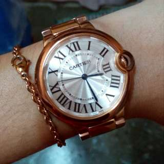 Cartier ballon bleu Rose gold