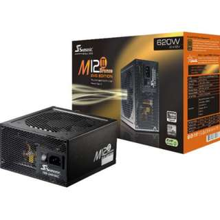 Seasonic M12 II EVO 620W PSU Power Supply Bronze 80plus Full Modular