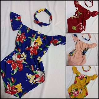 BABY SWIMSUIT WITH HEADBAND