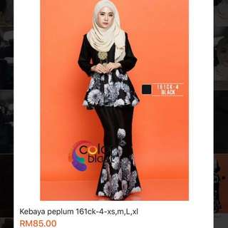 Kebaya Peplum Reduced Price