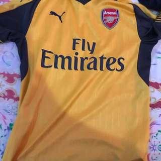 Arsenal's Away jersey