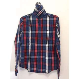 PULL and BEAR check shirt