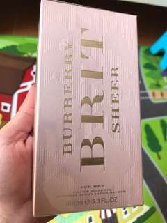 Burberry Brit Sheer - For her *Authentic*