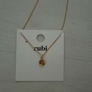 Rubi Charm necklace