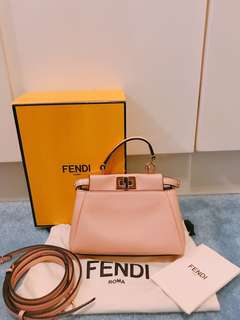 Fendi Peekaboo Micro bag