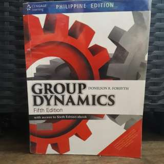Group Dynamics 5th Edition by Donelson R. Forsyth