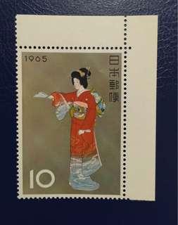 日本1965年序の舞新票