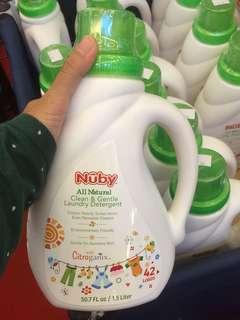 Nuby babies gentle detergent 1.5L