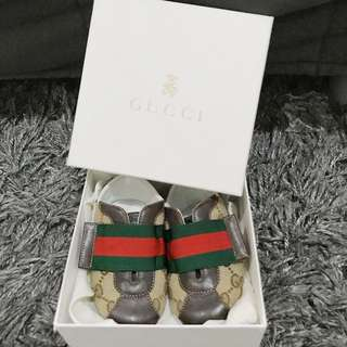 Baby Shoes Gucci Original