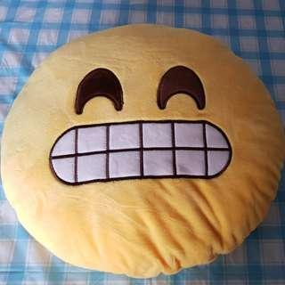 Brand new smile pillow