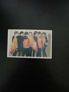 Got7 Lomo card