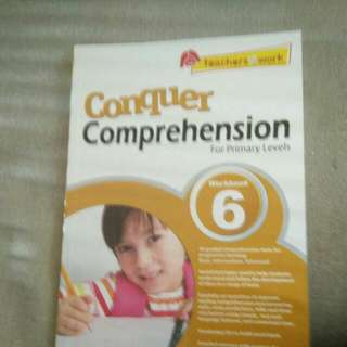 Comprehension book for primary level