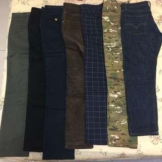 🚚 5褲+3上衣組