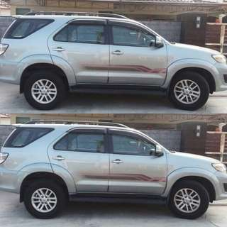 Toyota Fortuner 2.7A (4WD) 2014