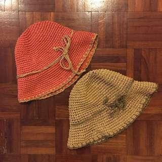 Buy 1 🆓 1 Straw bucket hat #Bajet20