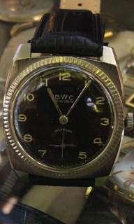 BWC vintage swiss .. manual..