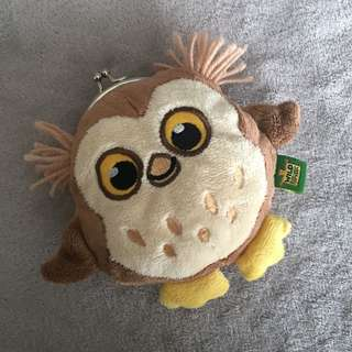 Wild Republic Cute Soft Owl Pouch/Purse
