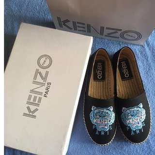 Kenzo embroidery tiger slip on sneaker