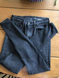 Black H&M skinny jeans (high waisted)