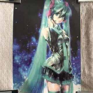 Vocaloid Hatsune Miku Poster (Anime/Manga)