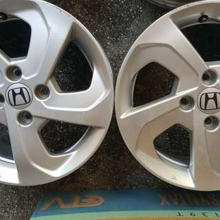 "Usee Honda City 15"" Stock Mags"
