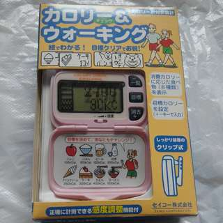 卡路里 / 步數陪跑器 Seiko WZ200