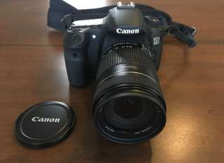 canon 60d with crumpler bag
