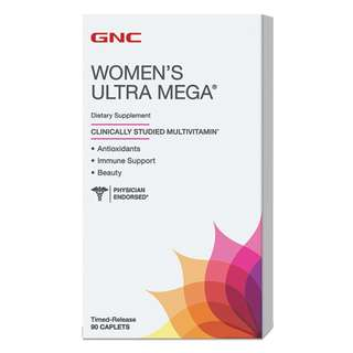 (BNIB) GNC WOMEN'S ULTRA MEGA® (90 CAPLETS)