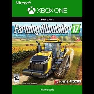Xbox One Farming Simulator 17 Digital Game Code