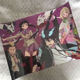 Blue Exorcist Poster (Anime/Manga)