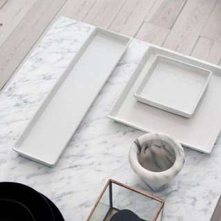 White Marble Contact Paper (Instock)