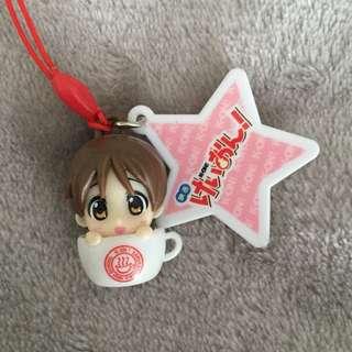 K-On! Ui Hirasawa Cute Teacup Keychain (Anime/Manga)