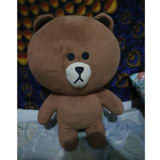 BONEKA BROWN LINE ORI