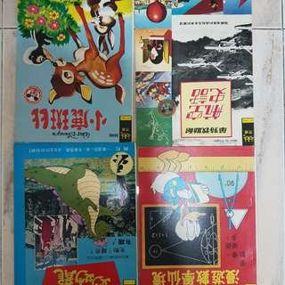 Old chinese comic book