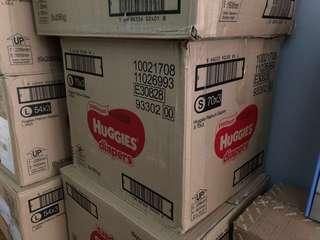 Huggies Platinum 'S' size diapers x1 carton
