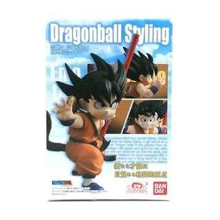 全新 Bandai Dragonball Styling Son Goku 龍珠 孫悟空 少年期