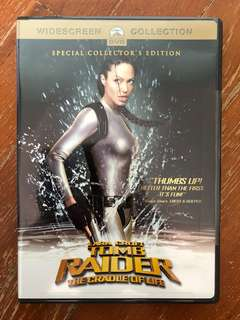 Lara Croft Tomb Raider: The Cradle of Life (2003) R1 DVD