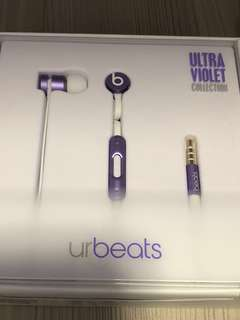 原廠Urbeats 耳機(紫)