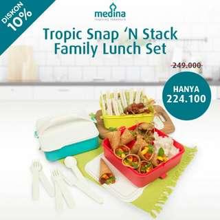 Rantang Family Lunch Set