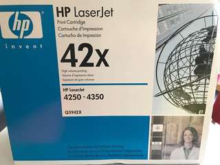 HP Laserjet print cartridge 42X