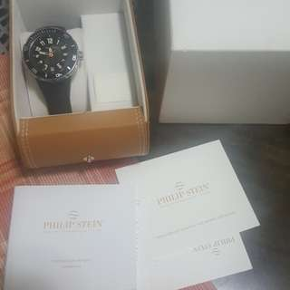 Authentic Philip stein mens watch