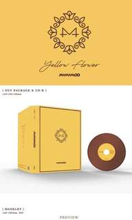 Mamamoo Yellow Flower Album (Album Only) Pre Orde