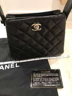 Chanel vintage bag with guarantee card