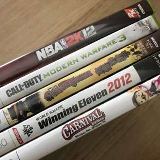 XBox 360 Games (Assorted)