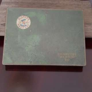Old cigarette box