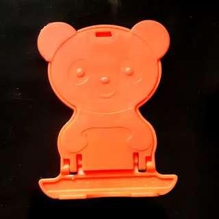 得意熊仔手機架 (橙色)