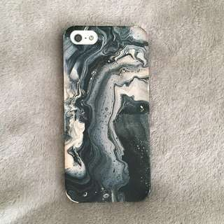 iPhone 5 phone case - Marble Canvas Paint