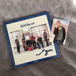 B.A.P Put 'em Up - Kpop Album CD + Photobook + Daehyun Photocard + Poster