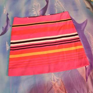 BNEW STRIPE SKIRT