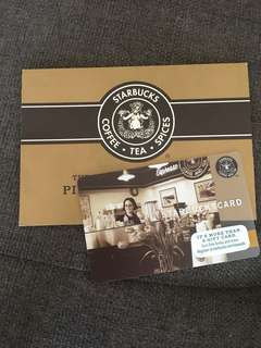 Special Edition US Starbucks Card with Sleeve